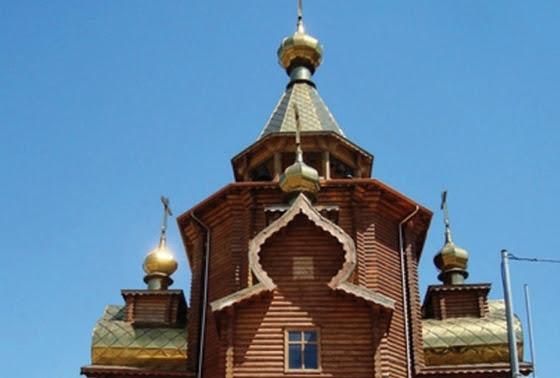 Δώρο από τη Ρωσία ένα ξύλινο παρεκκλήσι σε ρωσικό στυλ στην Αλεξανδρούπολη