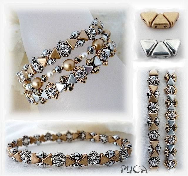 New beads Kheops by Puca bracelet.