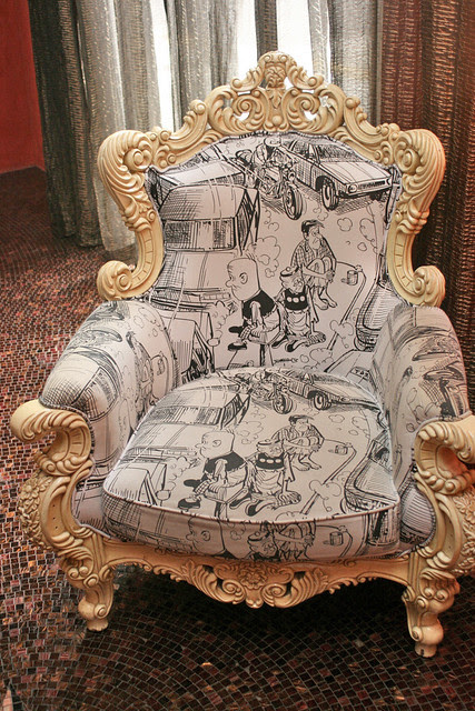 The Lao Fu Zi or Old Master Q armchair