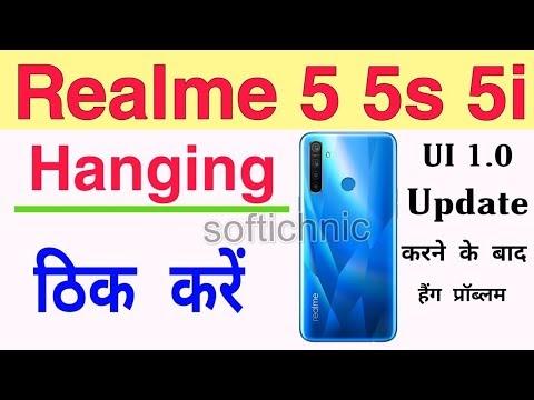 Realme 5 5s 5i Hang On Logo Solution
