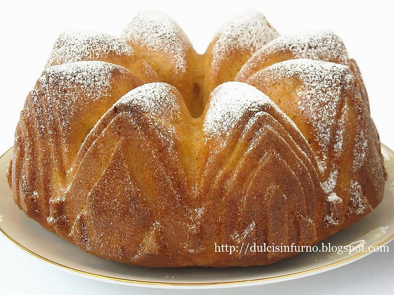 Torta Cattedrale alle Pesche-Peach Cathedral Cake