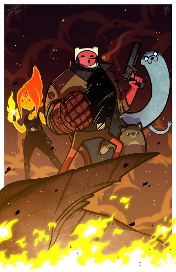 Hellboy versión Hora de Aventuras