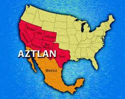 Note the identical match between Jade Helm and the propsed Aztlan map.