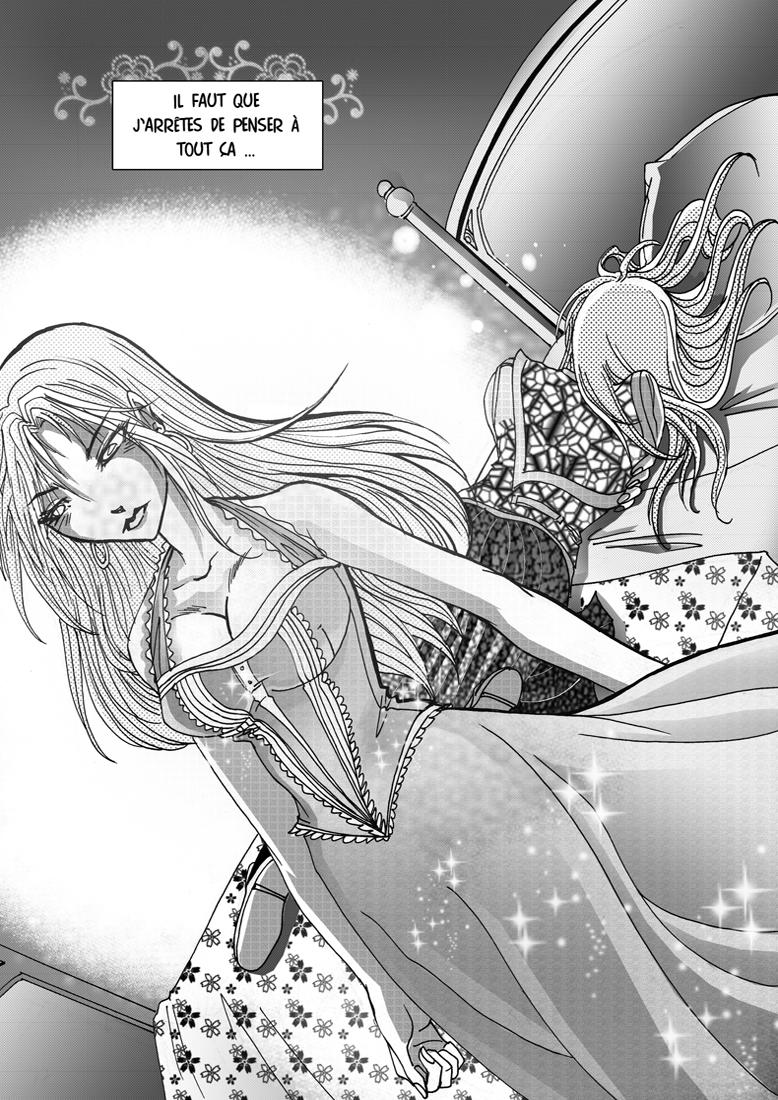 Miss-M planche Mythes et Légendes Shojo manga