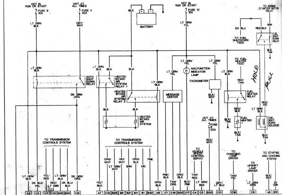 1998 Dodge Ram 1500 Wiring Diagram