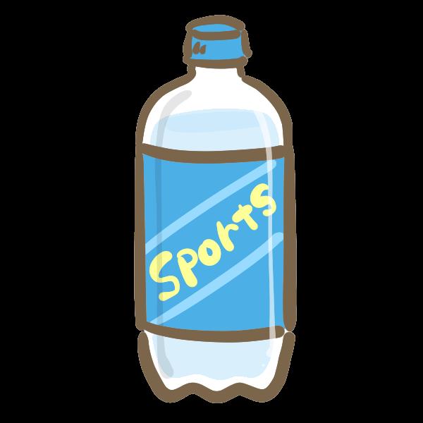 スポーツ飲料のイラスト かわいいフリー素材が無料のイラストレイン