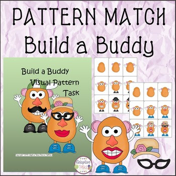 Build a Buddy Visual Pattern Task