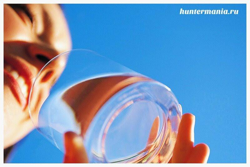 Как пить воду для похудения?