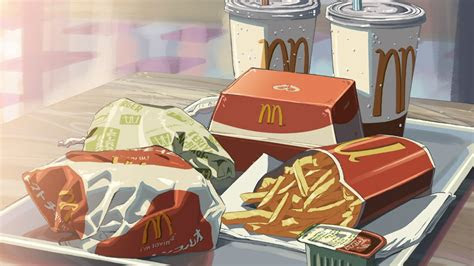 anime mcdonalds food google search food food drawing