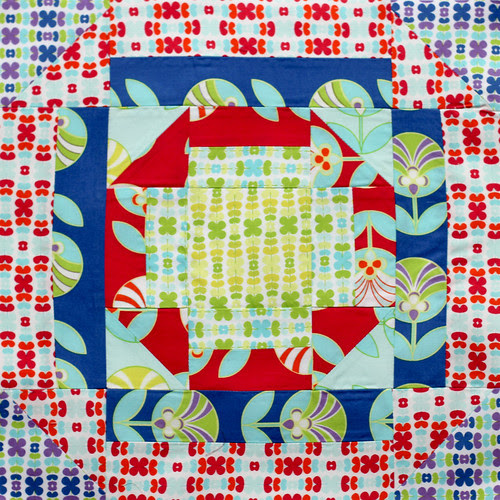 Aurifil Designer Block of the Month - March by Jeni Baker
