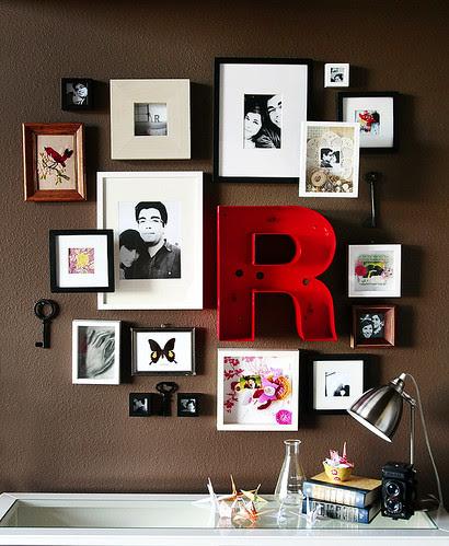 R framed