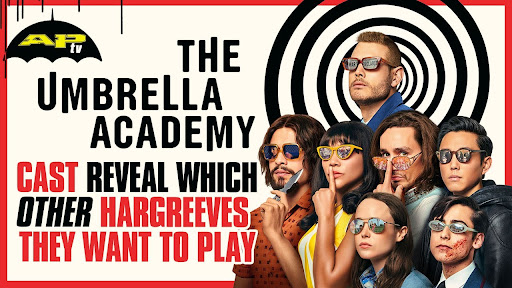 Avatar of Which characters would the cast of 'The Umbrella Academy' like to try on?
