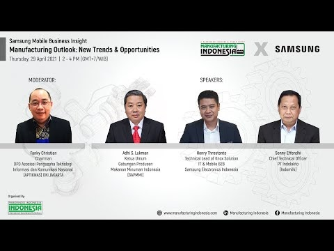 """Pamerindo x Samsung """"Manufacturing Outlook: New Trends & Opportunities"""""""