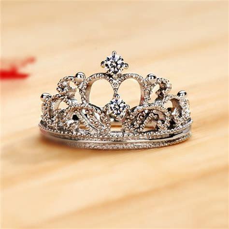 Exquisite Princess Crown Cubic Zirconia 925 Sterling