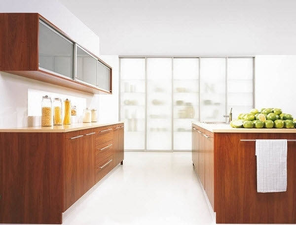 20 Ideen für Holz Küche in modernem Design und warmen Farbton