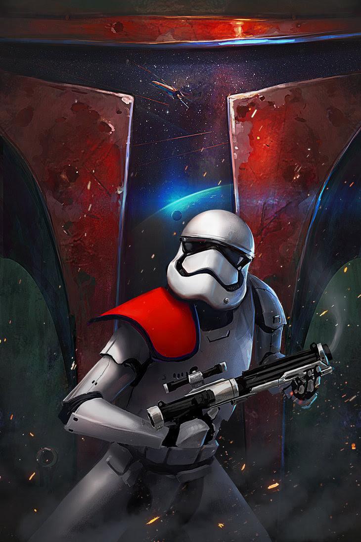 Trooper Poster by Jose Vega
