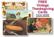 free vintage Thanksgiving postcards
