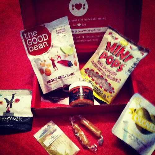Our new subscription box lovewithfood.com this is so yummy
