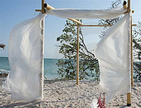 HOT SPECIAL   Bamboo Wedding Arch/Chupph And Fabric