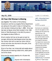 LAPD Blog