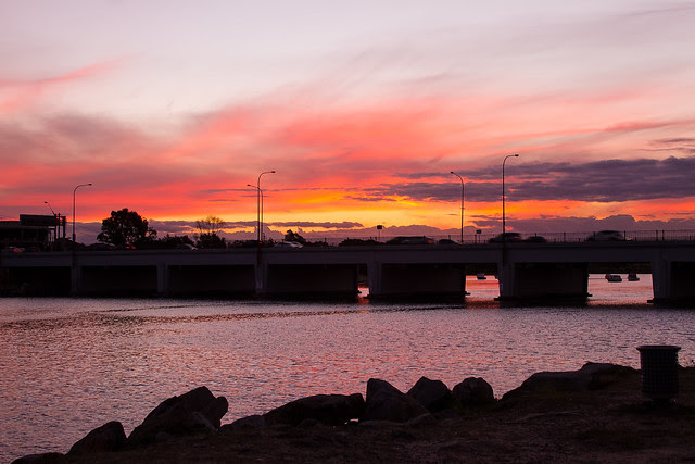 Cooks River Sunset