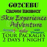 Crown Regency Sky Experience Adventure in Cebu Tour Itinerary 2 Days 1 Night Package
