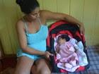 Enxoval de bebê não chega a tempo no AC (Anny Barbosa/G1)