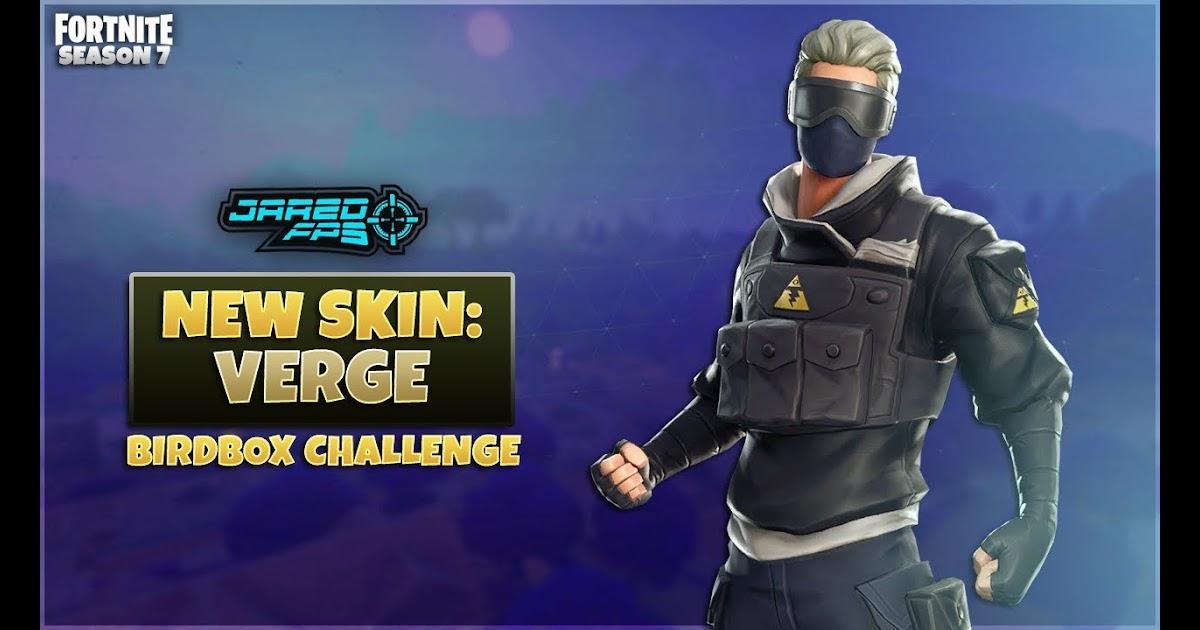 Fortnite Skin Verge