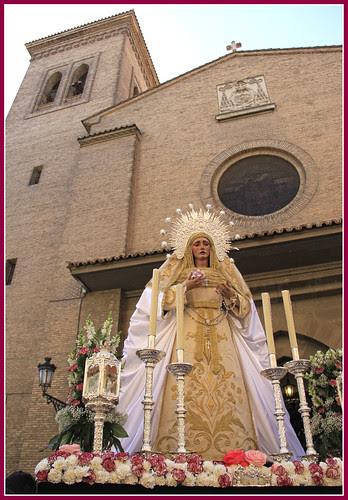 Imagen de la Virgen de la Esperanza Trinitaria