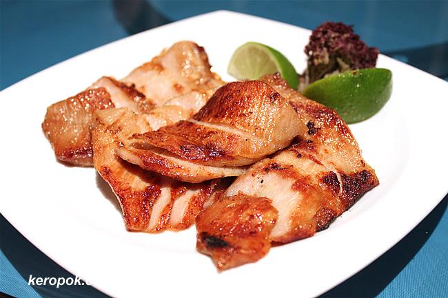 Over Roasted Sliced Pork Shoulder