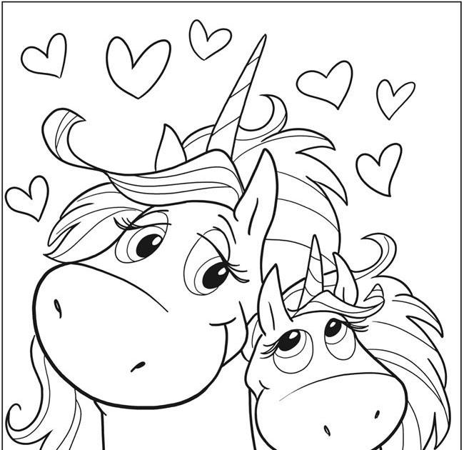 ausmalbilder kawaii tiere einhorn  cute unicorn 32