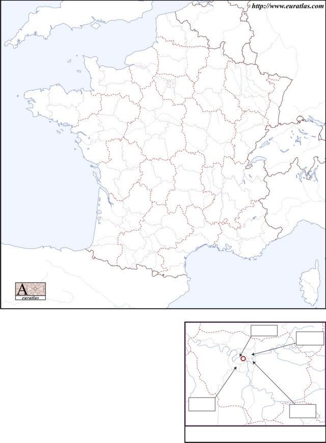 dooleyandme: blank map of france regions