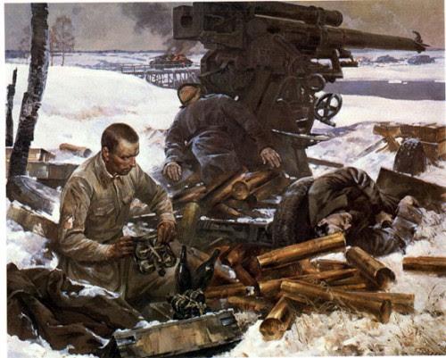 Картины о Великой Отечественной войне. Часть 6. (20 фото)