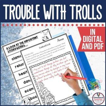 Trouble with Trolls Guided Reading Unit by Jan Brett Winter