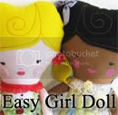 Easy Doll PDF Pattern