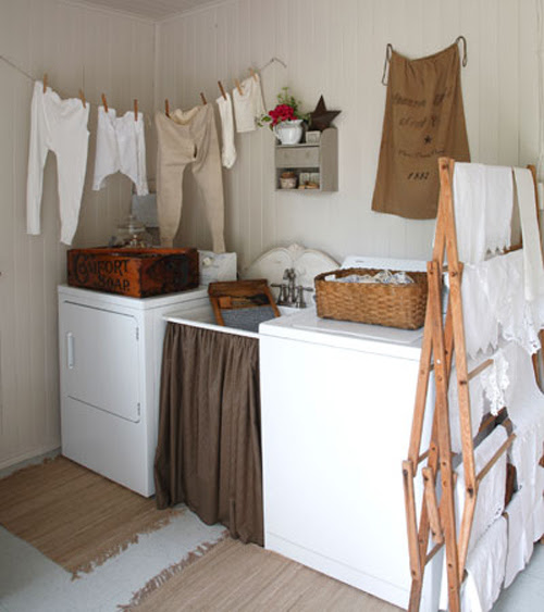 Vintage Laundry Room Decor Photograph | MayDae » Wash with