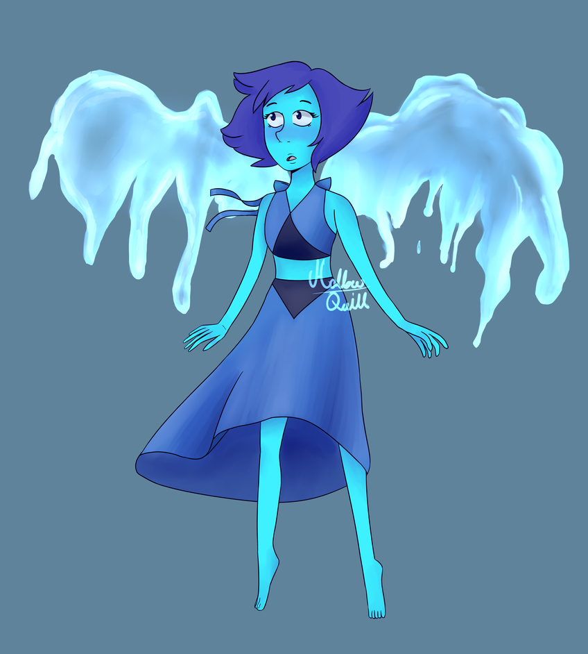 Redraw of Lapis Lazuli from Steven Universe, fighting some bad art block, I was hoping this would help. Time taken: like, 3 days on and off drawing I started it on the 19th w/ sketch and lineart, I...