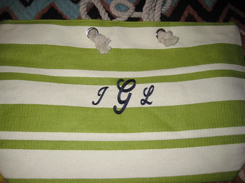 Consume or Consumed: Monogrammed Mother's Day Gift Idea