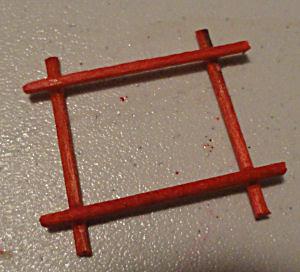 Crossed Toothpicks