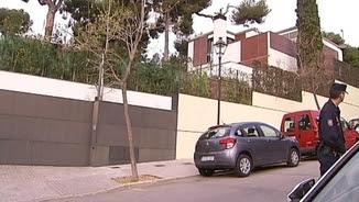 Imatge exterior de la casa de Pedralbes propietat dels ducs de Palma