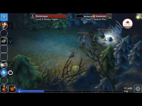 Eternium Mobil Hack & Slash Gameplay