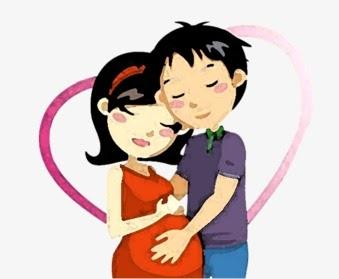 Mirzan Blog S 40 Koleski Terbaik Gambar Kartun Ibu Hamil Bersama Suami