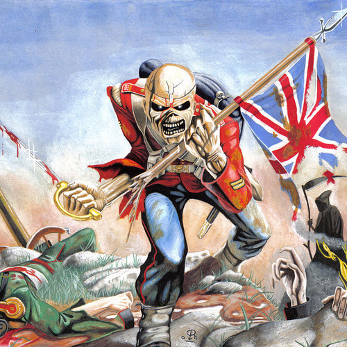 """Iron Maiden """"The Trooper"""" (from 'The Trooper')"""