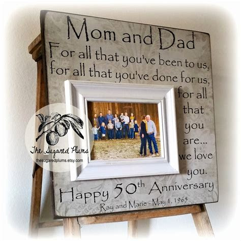 10 Fashionable 50Th Wedding Anniversary Ideas For Parents 2019