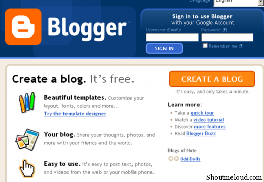BlogSpot SEO