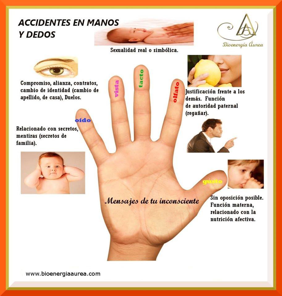 Mensajes De Tu Inconsciente Accidentes En Dedos Y Manos