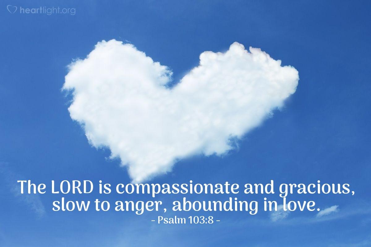 Illustration of Psalm 103:8