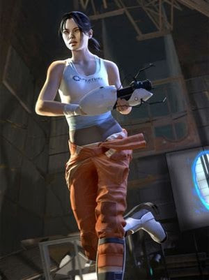 portal 2 chell face. If your game#39;s protagonist is