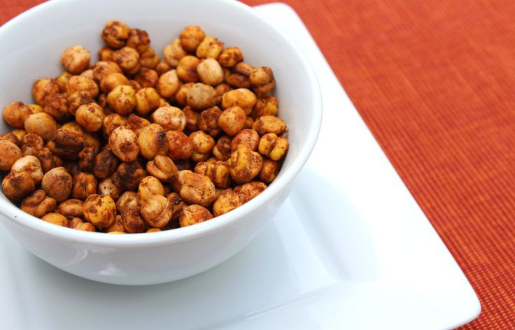 Roasted Smoked Paprika Cinnamon Chickpeas