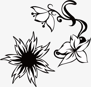 Flower Silhouette Free At Getdrawings Com Free For Personal Use